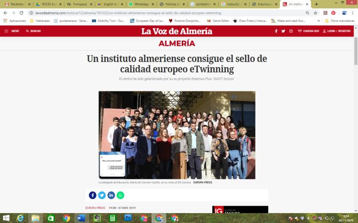 foto de noticia EuQL en La Voz Digital
